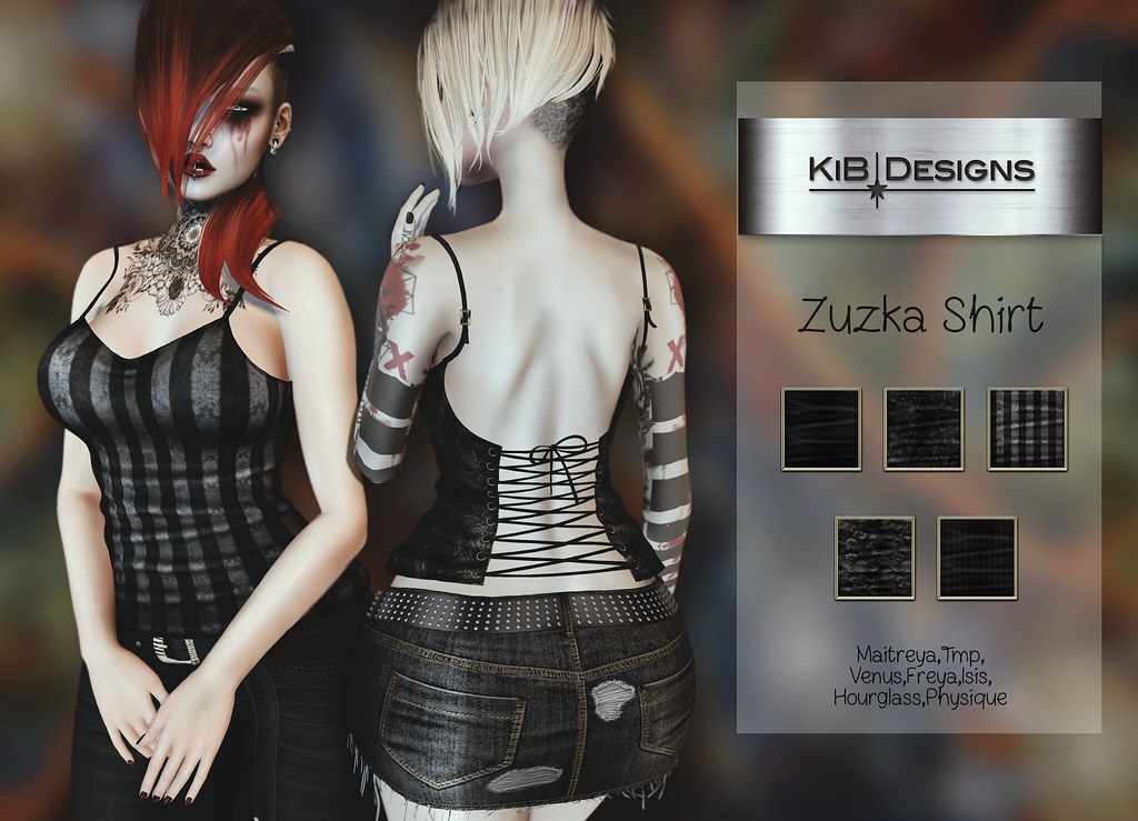 KiB Designs – Zuzka Shirt @Darkness Event