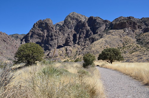 Las Cruces - Organ Peak Mountains trail
