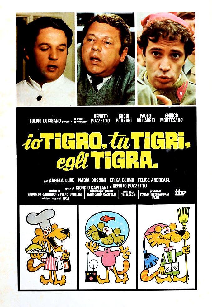 io tigro tu tigri egli tigra