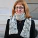 East London Knit's Brioche Twister Scarf