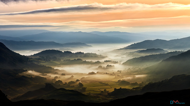 Little Langdale in the Mists