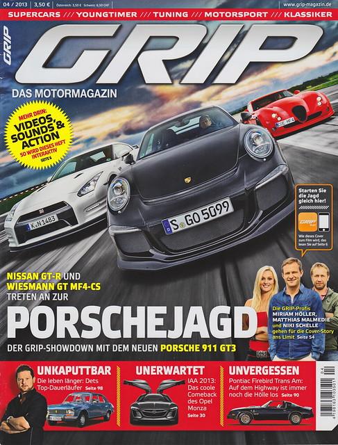 GRIP - Das Motormagazin 4/2013