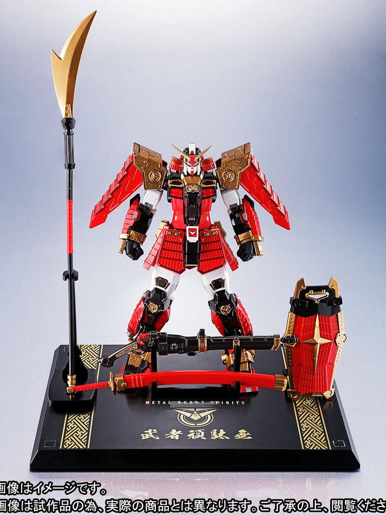 「武者七人眾」之首,見參!METAL ROBOT魂《SD戰國傳》 〈SIDE MS〉 武者頑駄無(武者鋼彈)