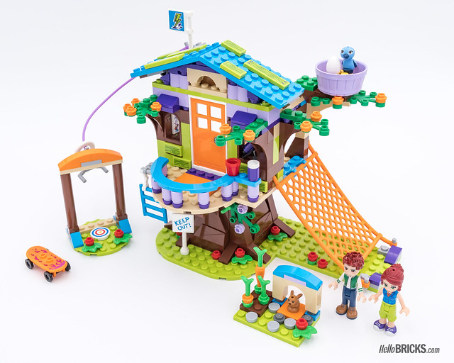 REVIEW LEGO Friends 2018 - LEGO 41335 Mia's Tree House