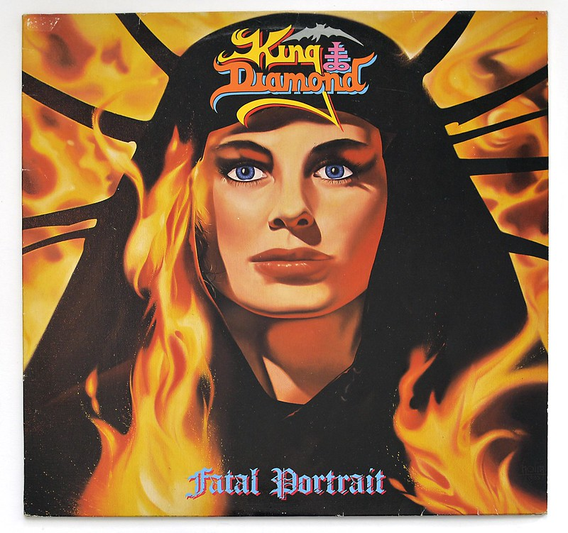 A0420 KING DIAMOND Fatal Portrait
