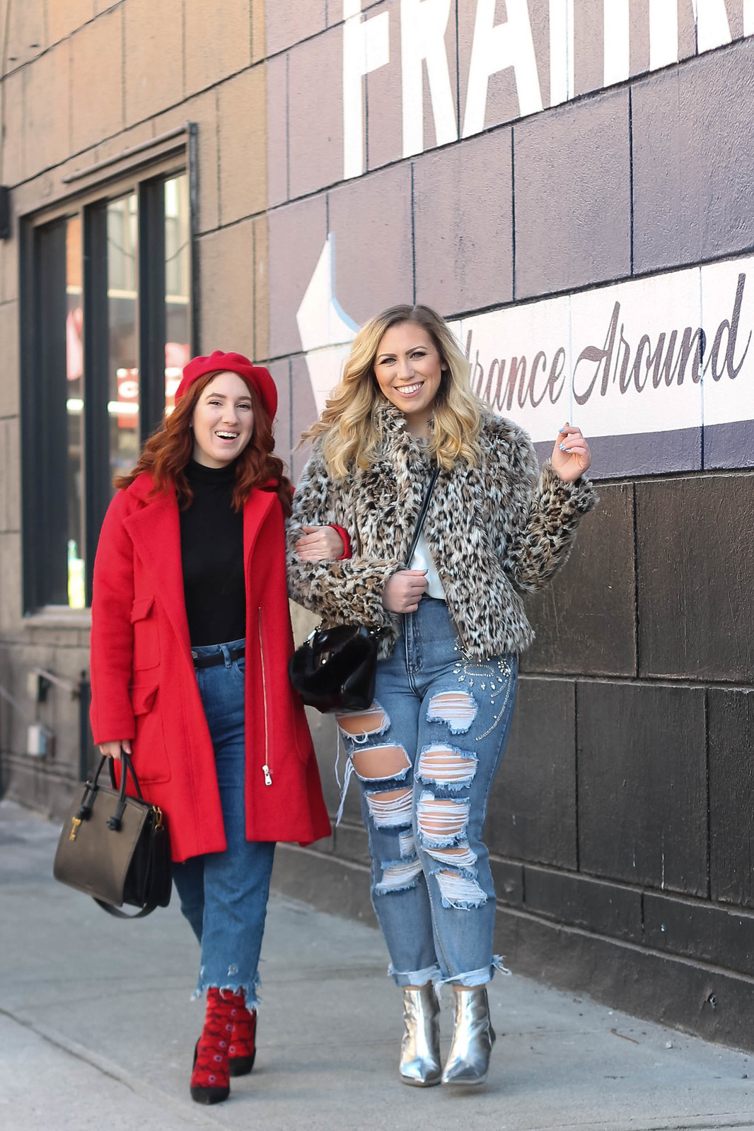 New York Street Style Blogger Besties Girl Gang