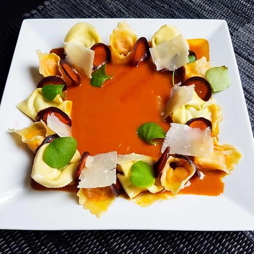 Tortellini mit Ingwer-Karotten-Sauce 20180121_124718
