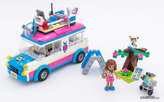 REVIEW LEGO Friends 2018 - LEGO 41333 Olivia's Mission Vehicle