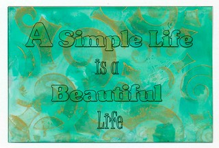 A Simple Life Is A Beautiful Life-simple-life-quote-n-art-series-II-4x6