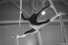 Gymnast Girl BW