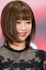 "Sakura Mana from ""The Lowlife"" at Opening Ceremony of the Tokyo International Film Festival 2017"
