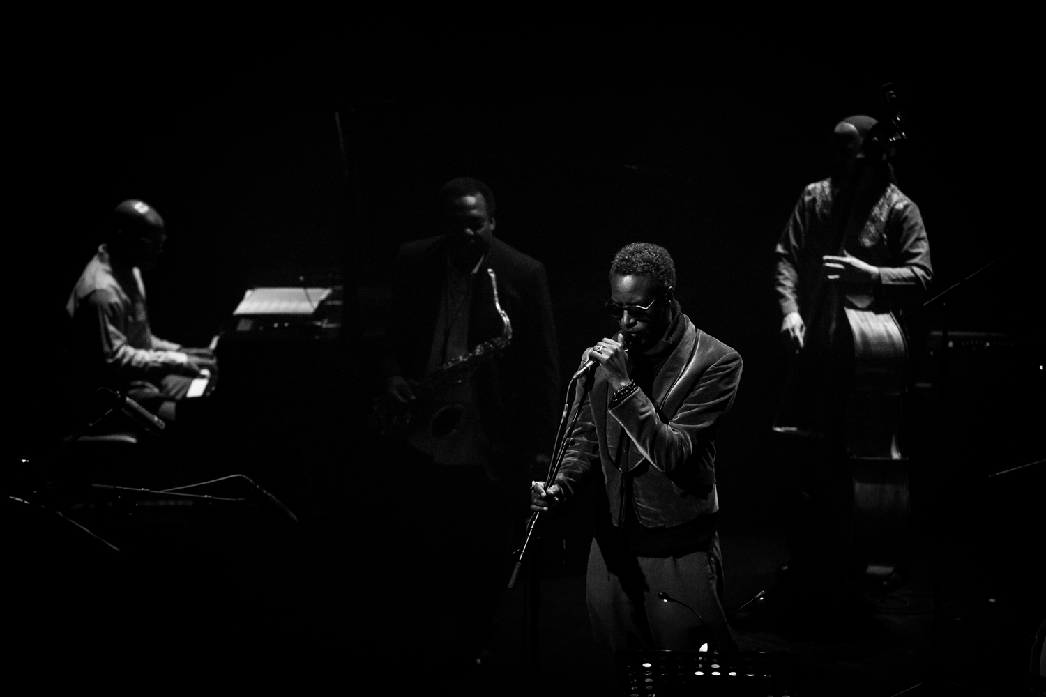 David Murray Quartet feat Saul Williams-7572