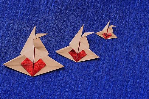 Origami Crane in Love (Elsje van de Ploeg)