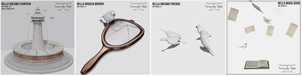 Serenity Style - Bella Dreams Series - TeleportHub.com Live!