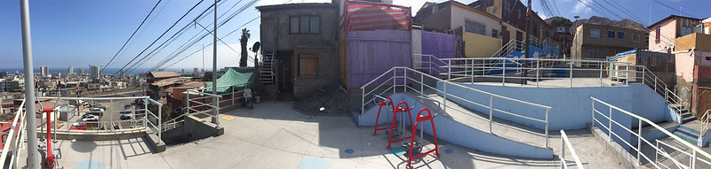 Construcción Explanada Portal Serrano - Barrio Miramar Central – Antofagasta