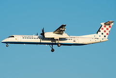 9A-CQE  Croatia Airlines Bombardier DHC-8-402 Q400