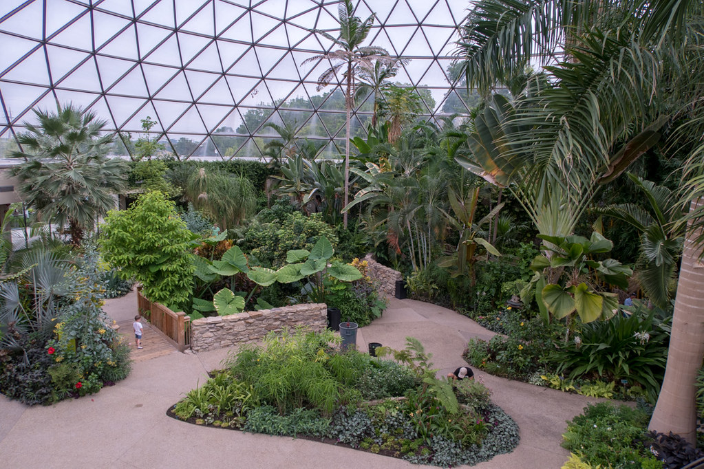 Conservatory at Greater Des Moines Botanical Gardens