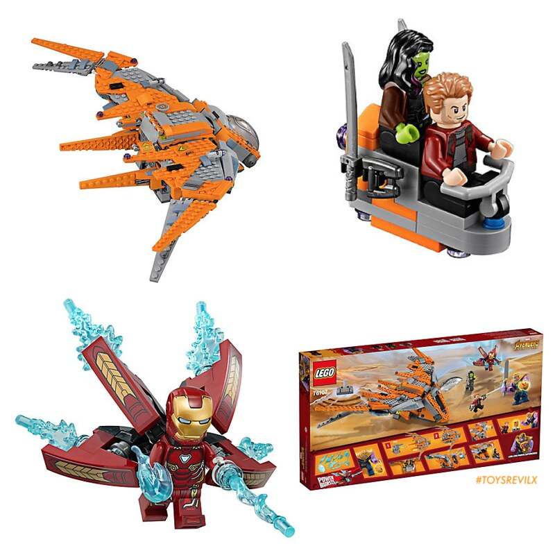 These LEGO Playsets For AVENGERS: INFINITY WAR Might Or
