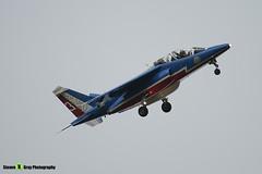 E31 3 - E31 - Patrouille de France - French Air Force - Dassault-Dornier Alpha Jet E - RIAT 2008 Fairford - 070711 - Steven Gray - IMG_7112