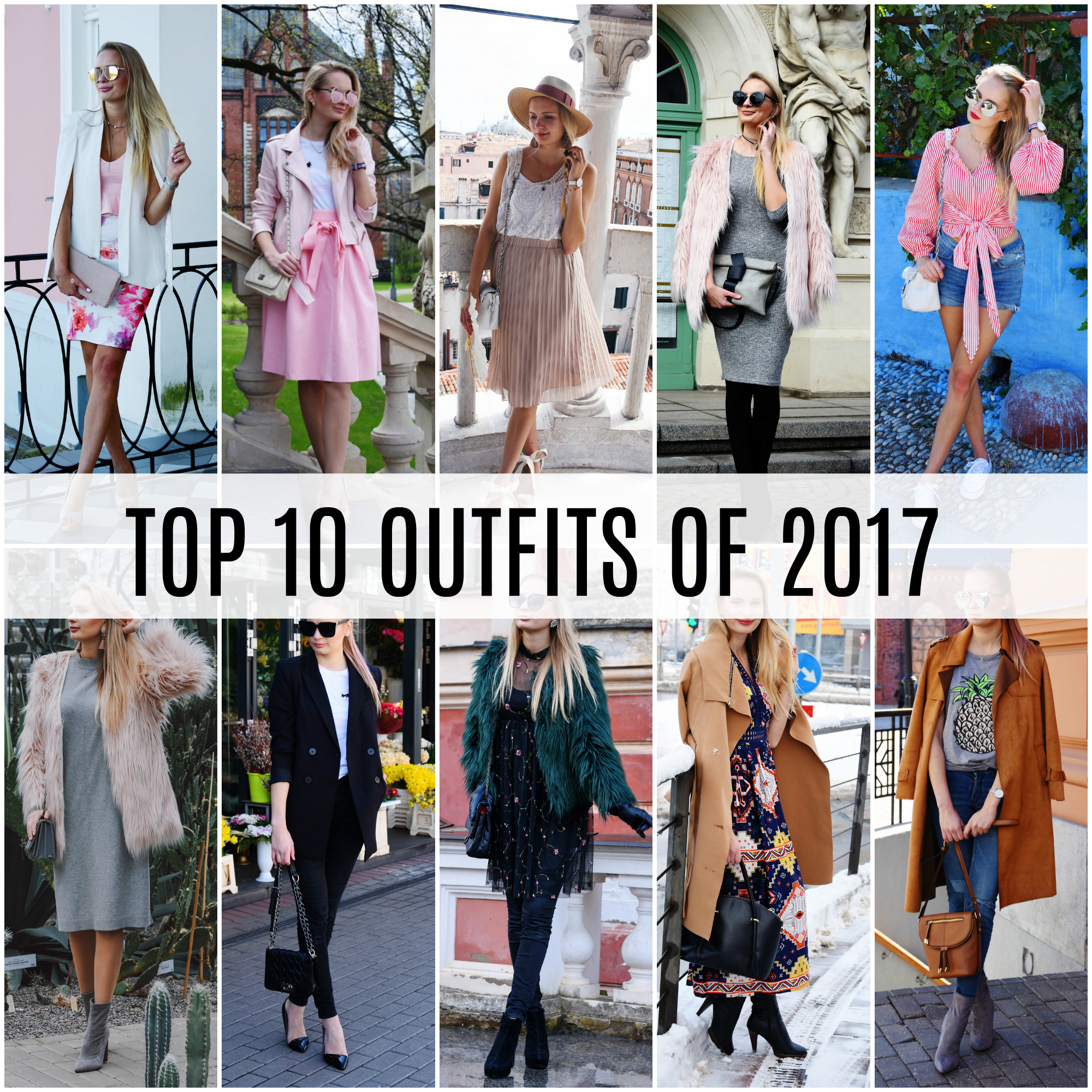 Top 10 outfits of 2017