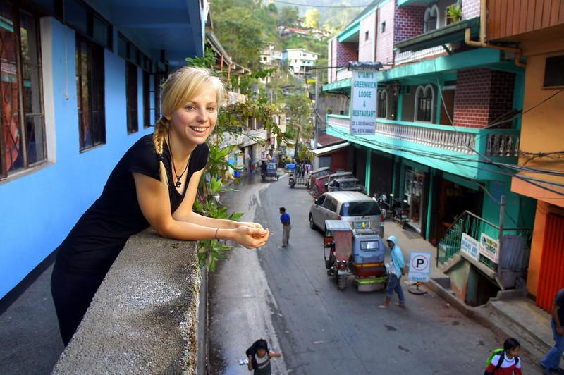 A charming town of Banaue
