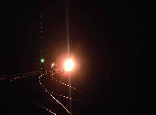 Glowing Rails at Luxemburg