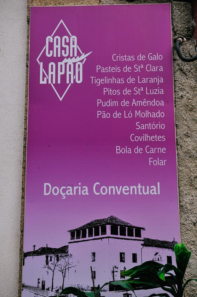 Casa Lapão, Doçaria Conventual (Vila Real, Portugal)