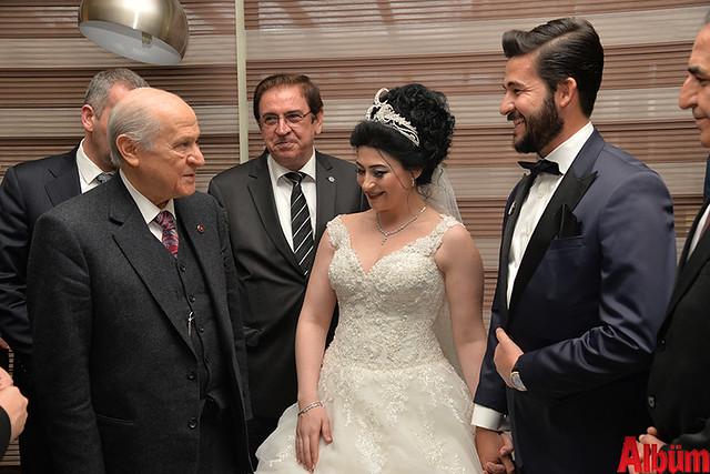Devlet Bahçeli, Esra Çetin, Ahmet Sünbül