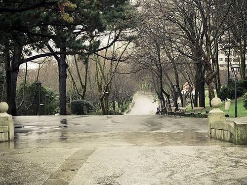 El parque en un día de lluvia de febrero. #monte #santamargarita #mc2 #Coruña #rain #park #olympus #olympusomd