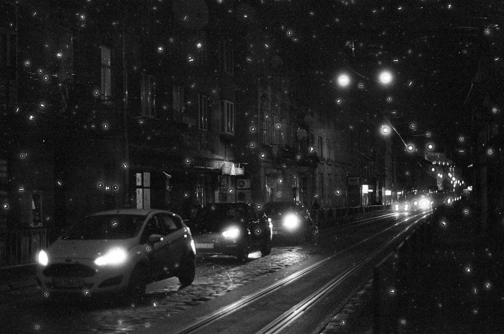 rush hour on my street