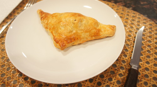 "At Home: ""Flaky Chicken Hand Pie"""