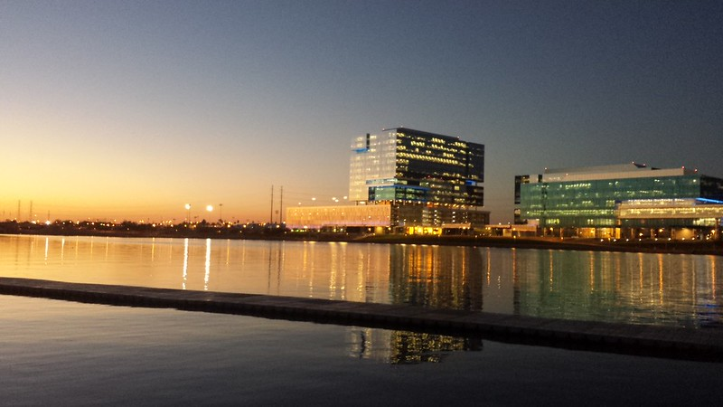 Good morning, Tempe Town Lake