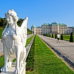 Belvedere Palace and park