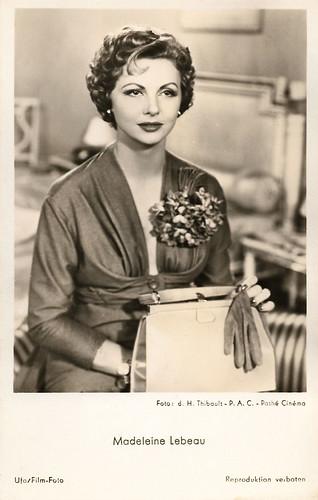 Madeleine Lebeau in Quai des blondes (1954)