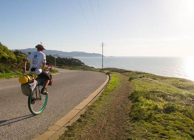 Ed Pratt on the Pacific Coast