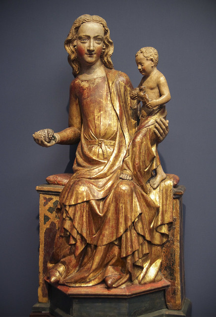 Enthorned Virgin and Child, 1330, Kolner Meister