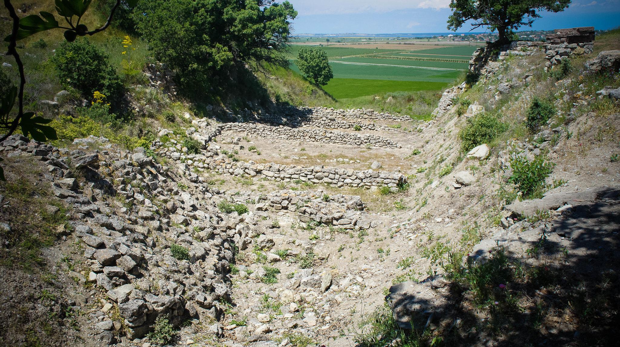 Schliemann's trench