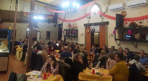 Cena de los enamorados en Bar Garabato