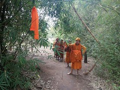Dhamma or Dharma * Practice in refining Access to the Dharma Thank you. Phra​ Siharatsamajaramuni Deputy Director of Nakhon Ratchasima Lead the monks Follow the footprints of the Prophet. Thungyai Naresuan World Natural Heritage Thailand
