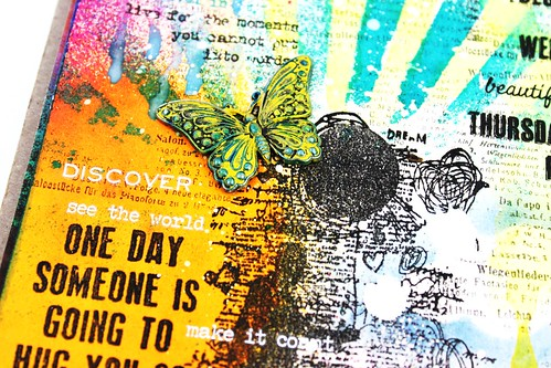 Meihsia Liu Simply Paper Crafts Mixed Media Art Journal Weather Simon Says Stamp Tim Holtz 4