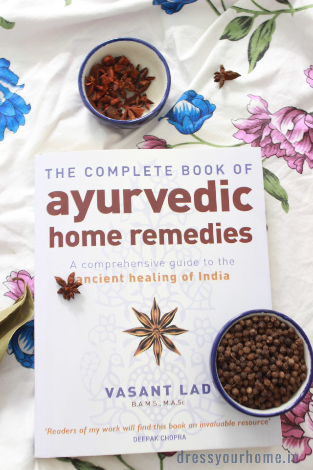 Ayurvedic book of home remedies