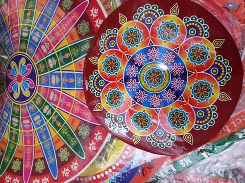 Diwali Shopping Little India - Rangoli