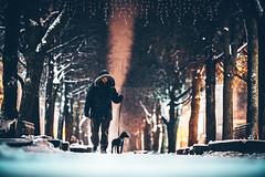 Man with the black dog | Kaunas #17/365