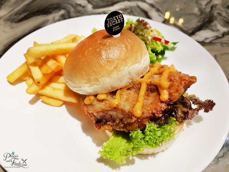 tokyo secret mid valley burger