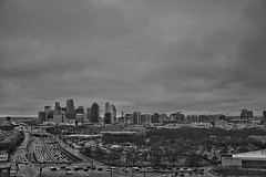 before it started raining again #DailyDallasPic 022118 8:46a f3.5 1/320 18mm ISO 100 #Dallas #bnwphotography #bnw_just #bnw_city #bw #bnw_society #bnw_captures #bnw #skyline #lpcityskyline #blackandwhite #monochrome #DFW #DallasTX #everything_bnw #bnw_hun