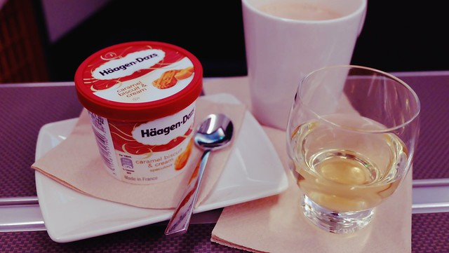 Business Class In-flight Meal - Cathay Pacific
