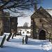 Easby Abbey in Winter 2018