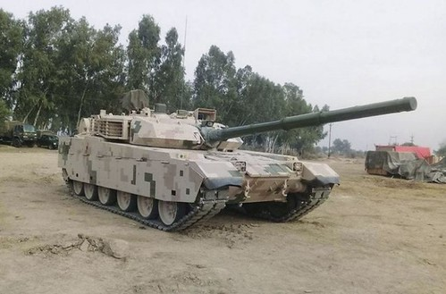 Chinese VT4 tank testing in Pakistan