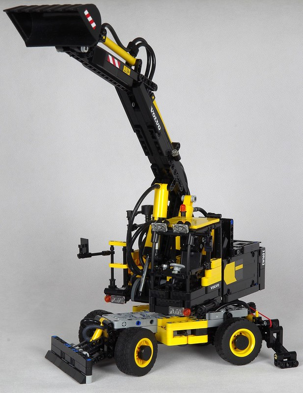 lego technic bagger volvo auto bild ideen. Black Bedroom Furniture Sets. Home Design Ideas