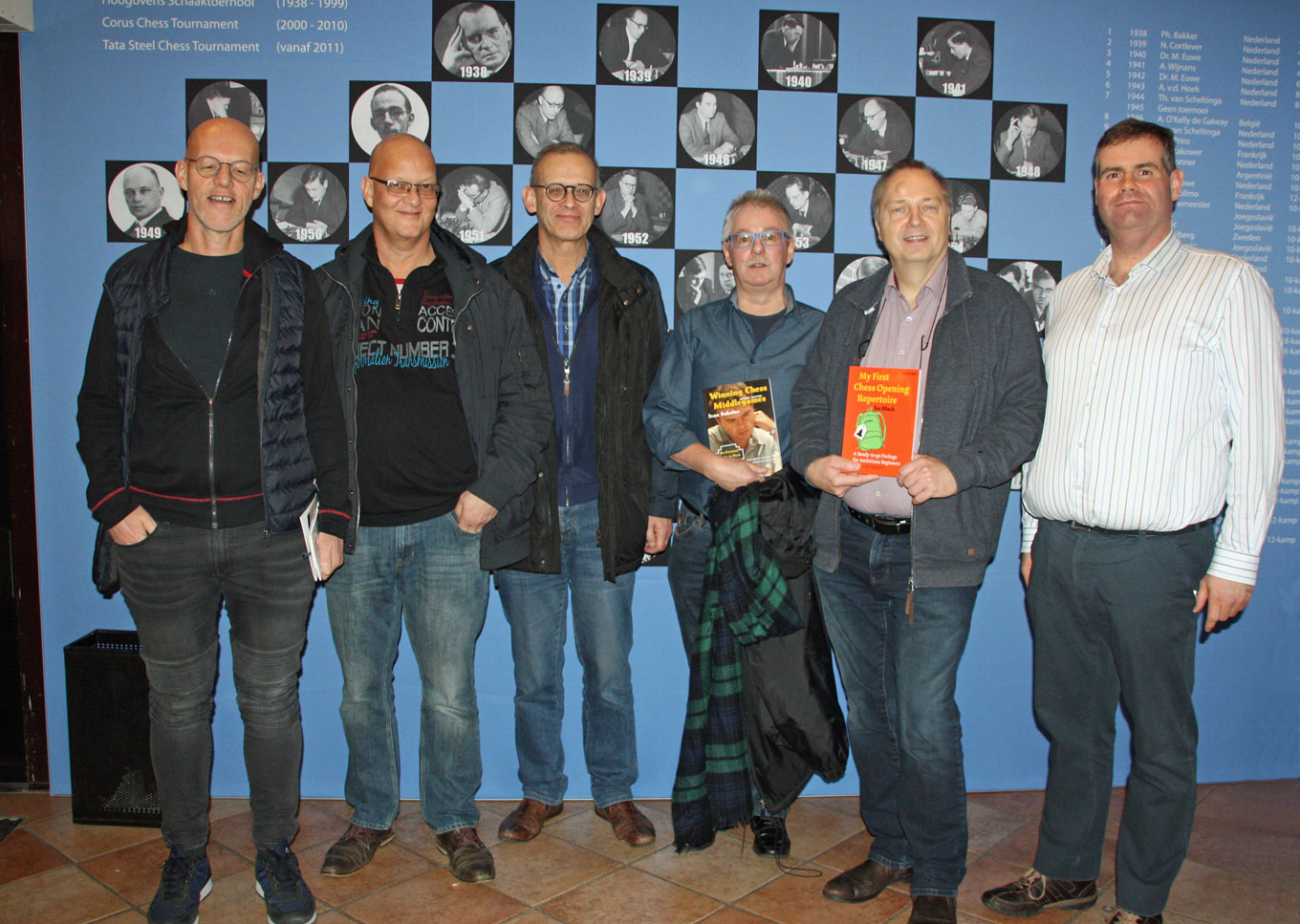 2018 Limburgse spelers in Tata Steel Chess Tournament